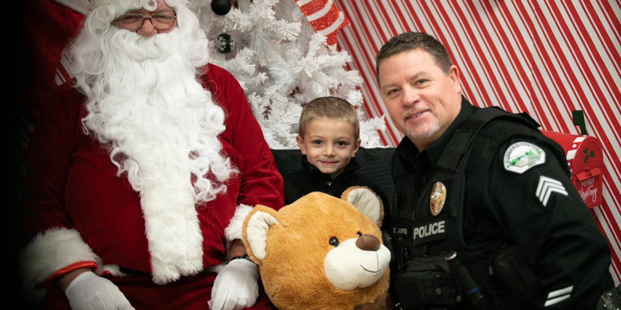 Photos: 2019 Shop with a Cop and Firefighter