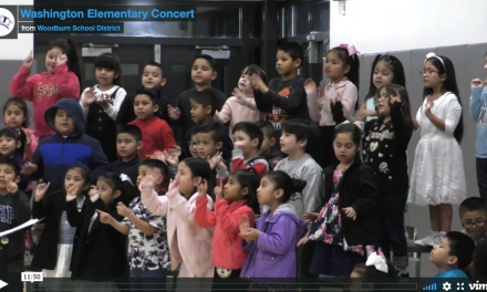 Washington Elementary K – 2 Concert