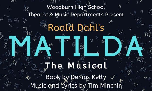 Matilda The Musical – February 7 – 8, 14 -15