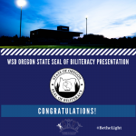 WSD 2020 Oregon Seal of Biliteracy Recipients
