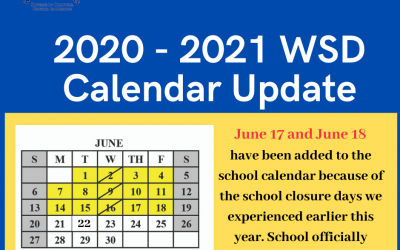 WSD School Board votes adds two make-up days to the academic calendar