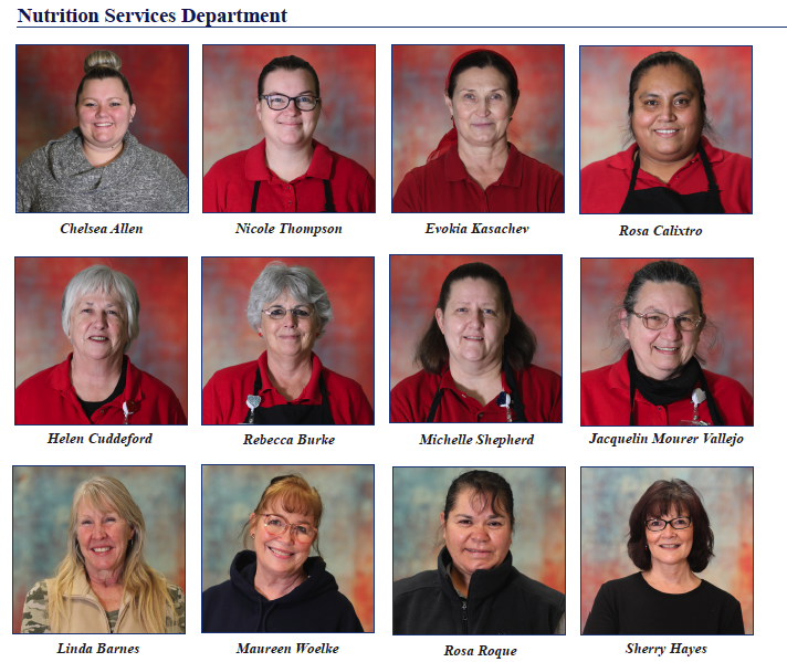 Nutritional Services team gets recognition for their outstanding service